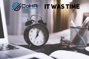 CoHR Solutions new website
